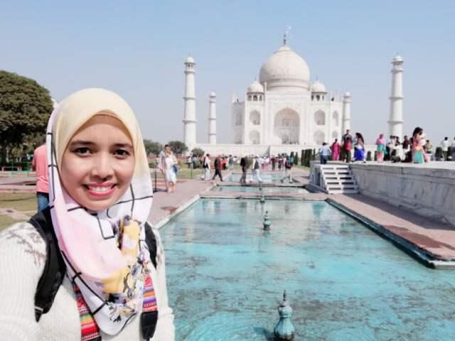 TRIP INDIA CANTIKNYA TAJ MAHAL (180)
