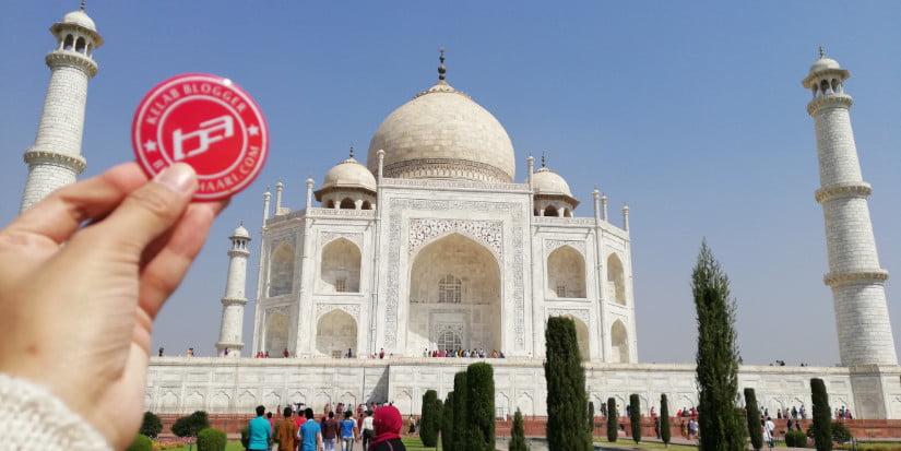 TRIP INDIA : CANTIKNYA TAJ MAHAL (EPISODE 7) | #KEMBARAQASEHZYPHYTO