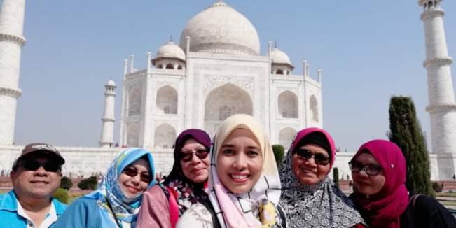 TRIP INDIA CANTIKNYA TAJ MAHAL (218)