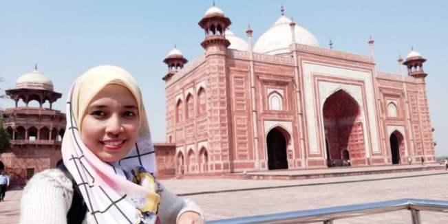 TRIP INDIA CANTIKNYA TAJ MAHAL (238)