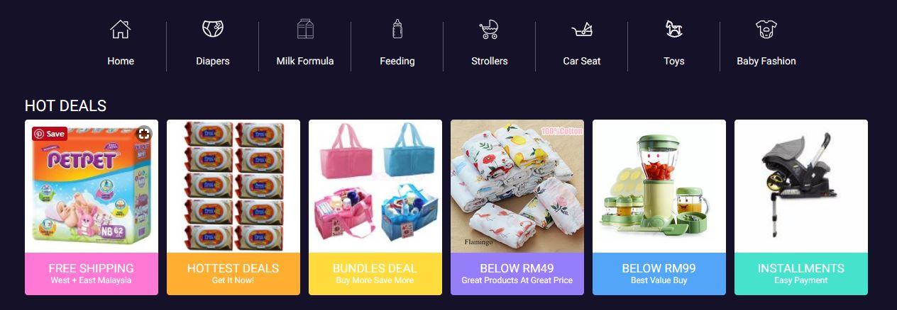 WOW! LAZADA BIG BABY FAIR 2018 DAH BERMULA!! POTONGAN SEHINGGA 80% TUUU!! 1