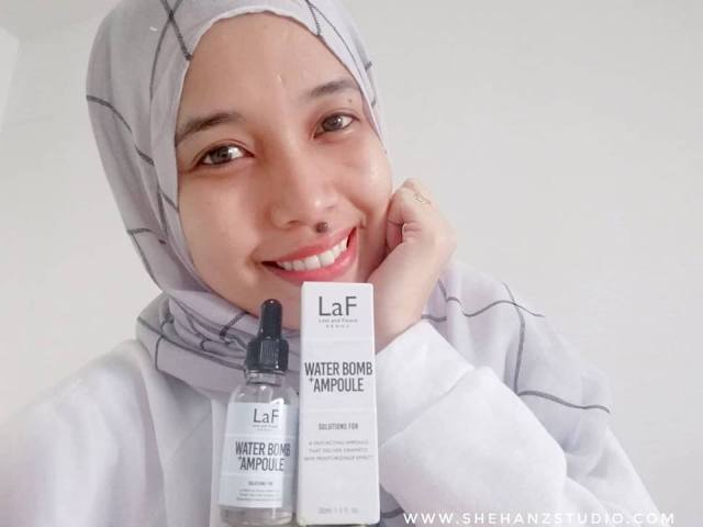 LaF LOST AND FOUND WATER-BOMB AMPOULE - MY FIRST IMPRESSION! (14)
