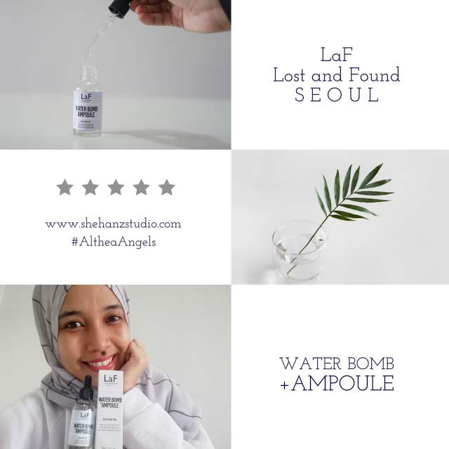 LaF LOST AND FOUND WATER-BOMB AMPOULE - MY FIRST IMPRESSION! (15)