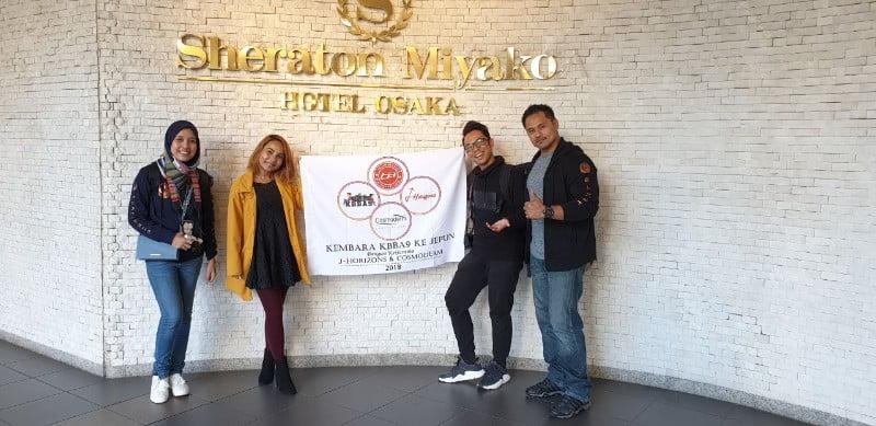 SHERATON MIYAKO HOTEL OSAKA HOTEL PENGINAPAN STRATEGIK DI OSAKA - PART2 KEMBARA #KBBA9 COSMODERM - J HORIZONS KE JEPUN (363)
