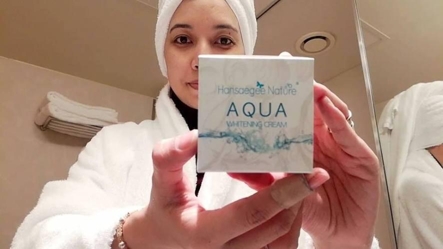 ALOE AC CLEAN BUBBLE CLEANSER & AQUA WHITENING CREAM HANSAEGEE NATURE REVIEW (29)