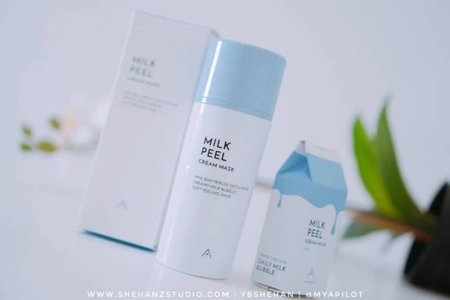 ALTHEA MILK PEEL CREAM MASK REVIEW (3)