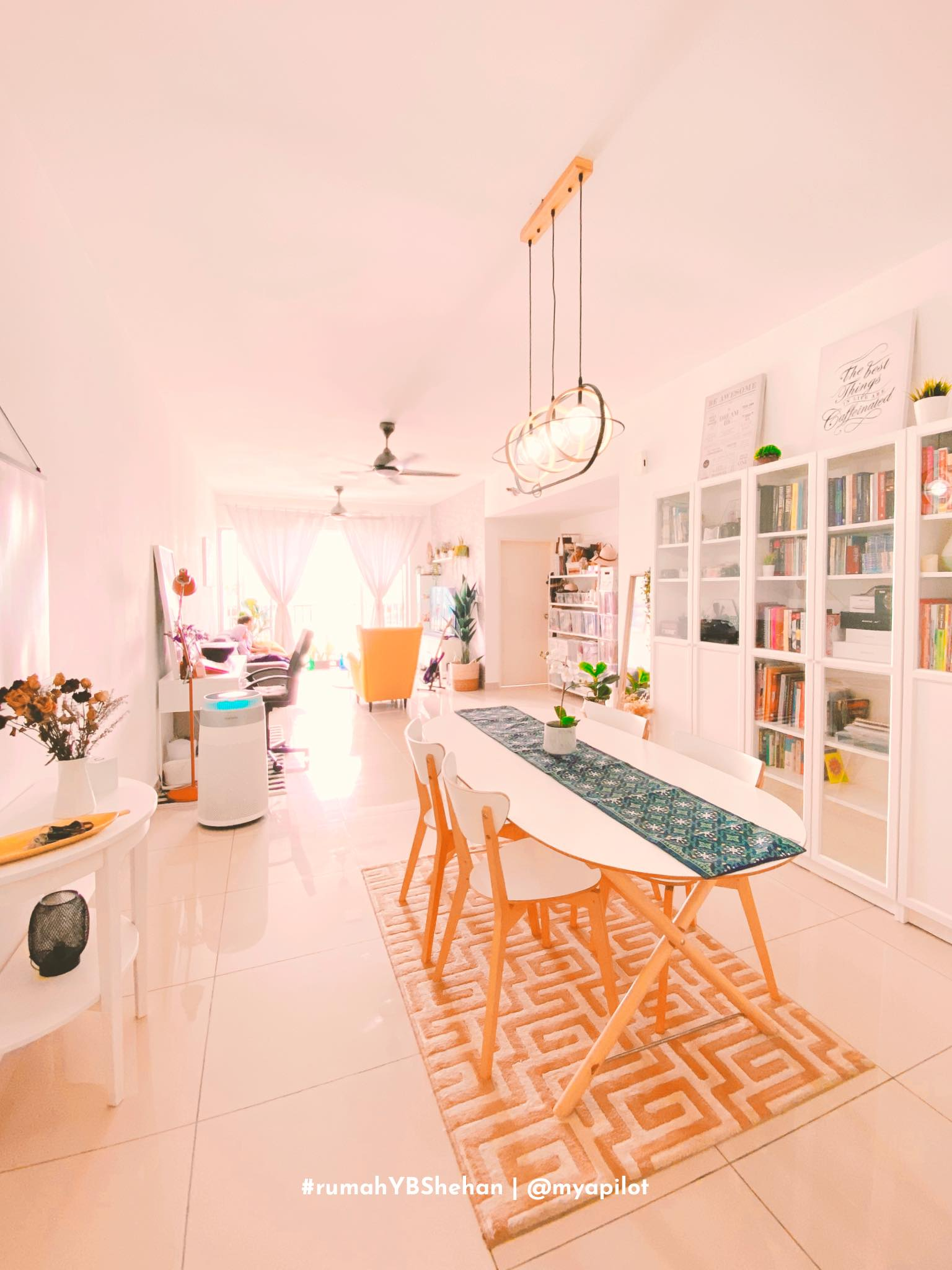 DEKORASI SIMPLE RUMAH APARTMENT #rumahYBShehan