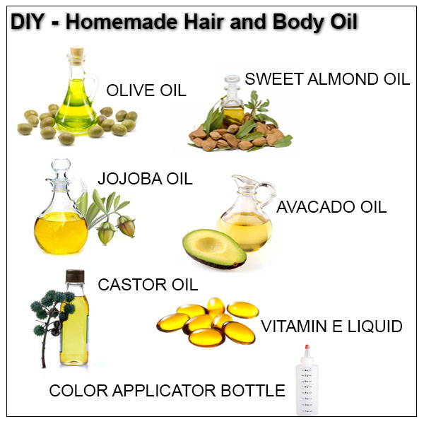 DIY Homemade Hair And Body Oil She Has Gone Curly