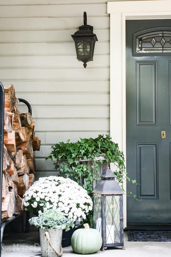 Farmhouse Porch Decor Ideas - She Holds Dearly