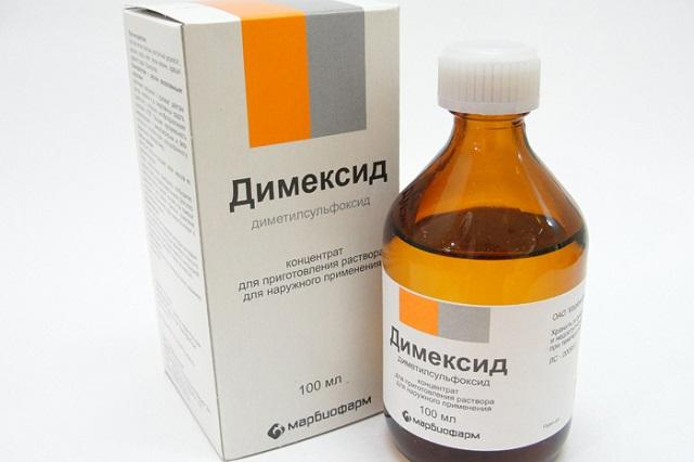 Димексид — инструкция по применению, для компресса, для суставов, как разводить, для волос