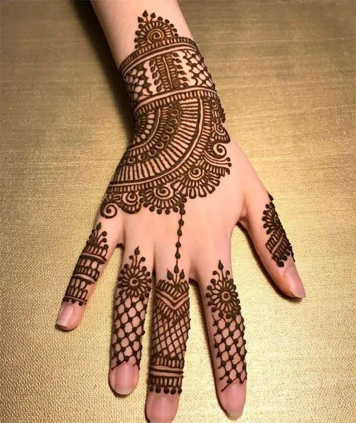best henna mehndi design