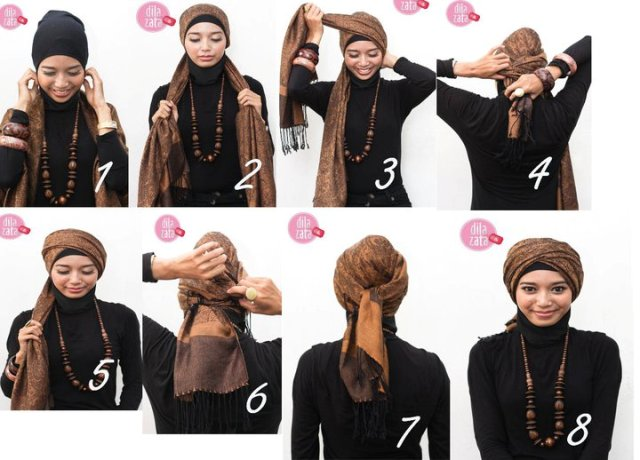 Gambar Tutorial Hijab Beautiful Hijab Shop