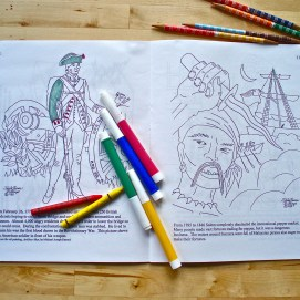 Salem: Which City? Coloring Book. Coloring pages.