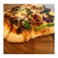 Bok Choy Pizza