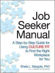 Books by Sheila Margolis - Job Seeker Manual on culture fit