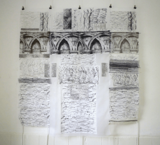 Arches, drawing