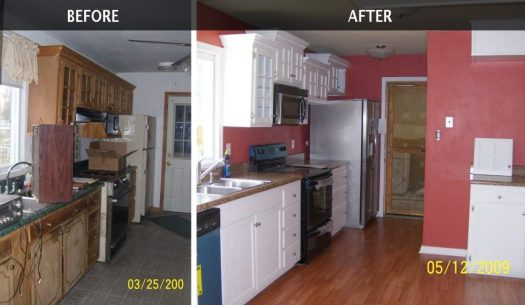 Virginia Beach House Painting Before And After Interior Results