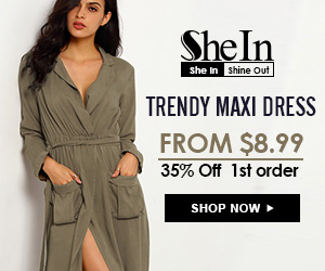 SheIn -Your Online Fashion Maxi Dress