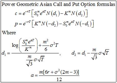 Asian put option