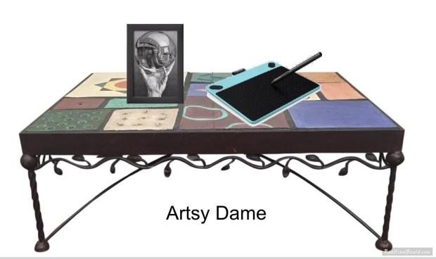 Artsy Dame