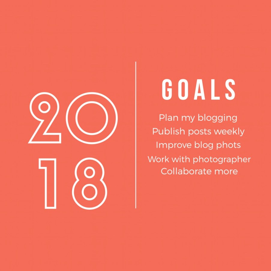 2018 goals + a recap of 2017