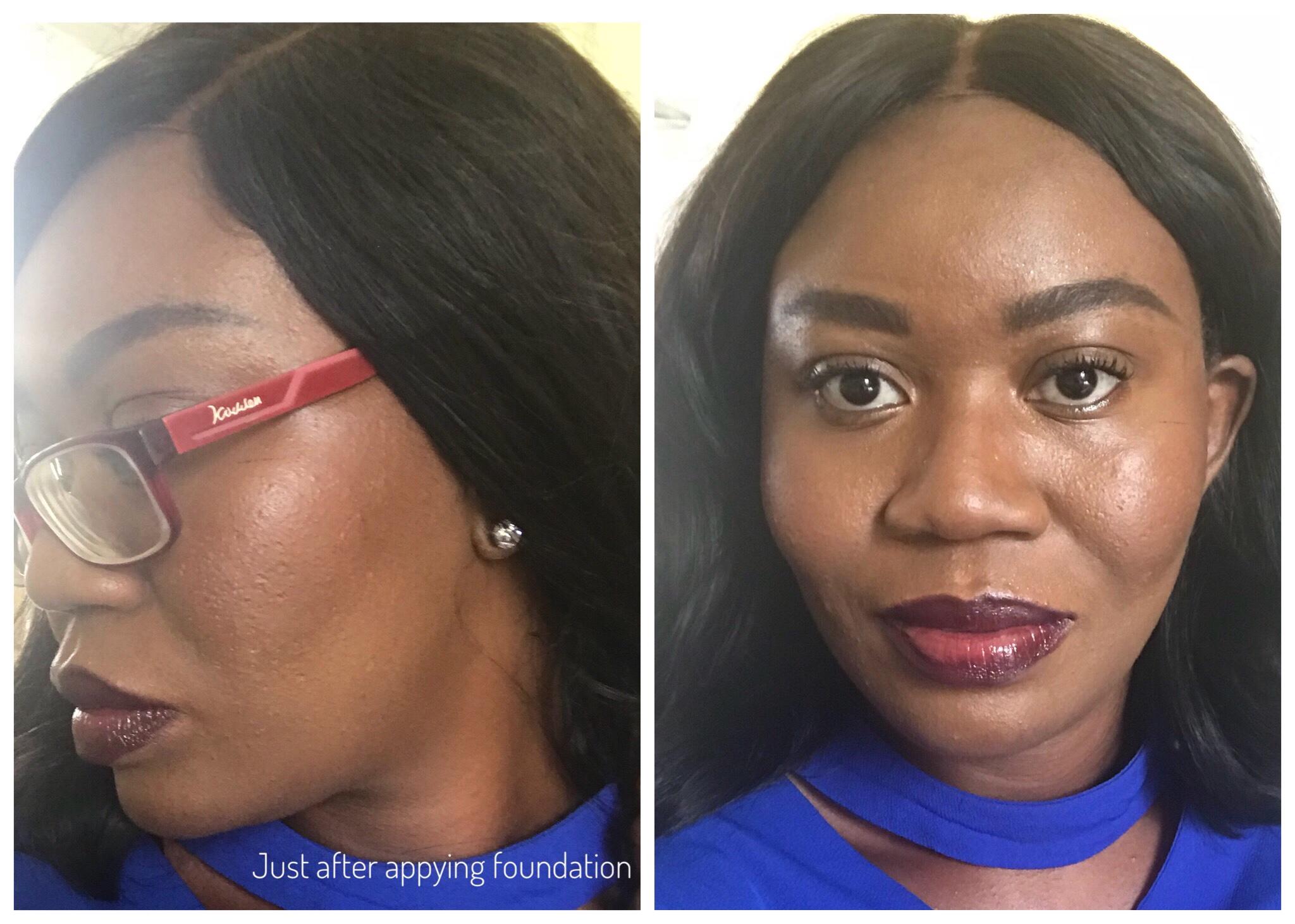 BLK/OPL True Color Pore Perfection Powder Foundation - Sheisnaturallybronze