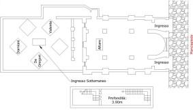 Cronaca VV - Pianta monastero-Piano terreno