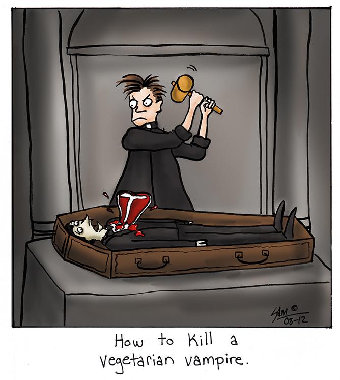 Metodi per eliminare vampiri vegetariani