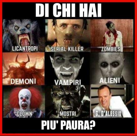 Chi ti fa più paura?