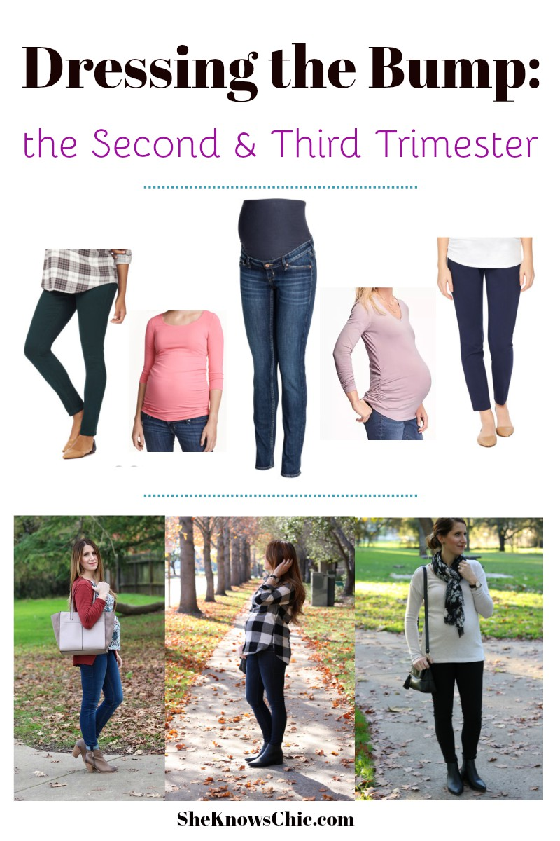 Dressing the Bump: Second & Third Trimester