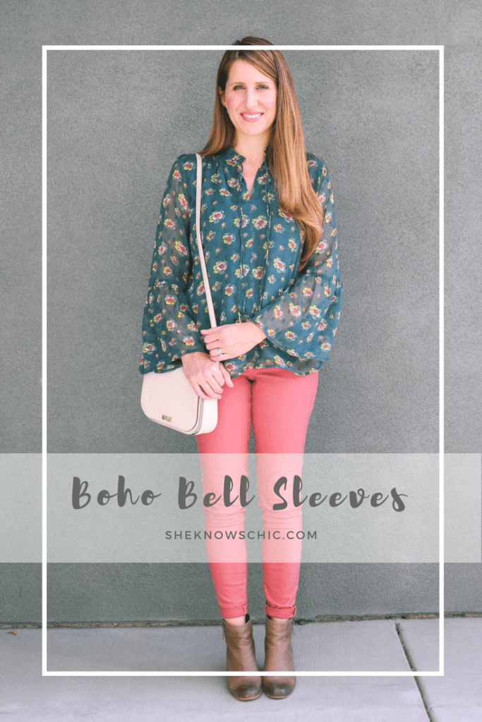 bell sleeves outfit