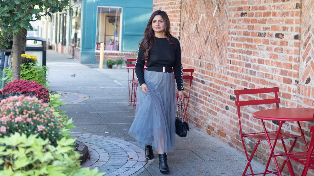 How to style skirts in fall/winter - She Labels Everything!