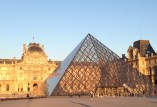 Louvre Sunset Copyright Shelagh Donnelly