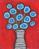Blue Poppies by Shelagh Duffett