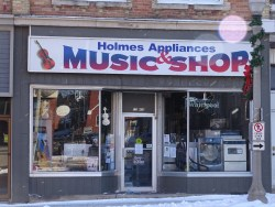 Holmes Appliance and Music Shop
