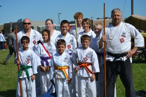 Umaka Dojo, Classical Martial Arts demonstration, led by Sensei Nick Lagrastra