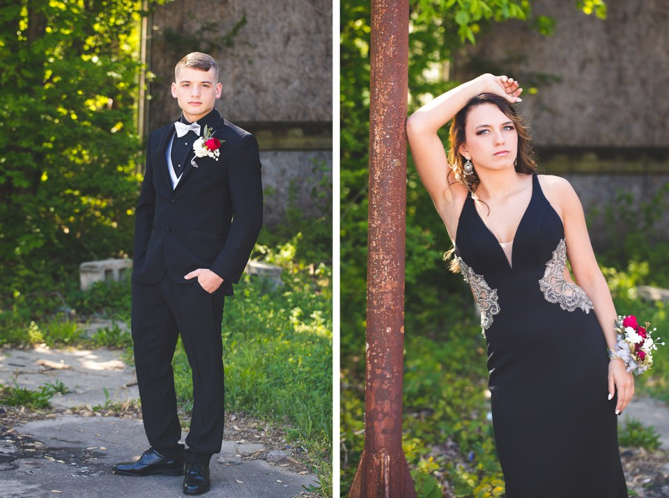 Prom Couple from Greenbrier High School