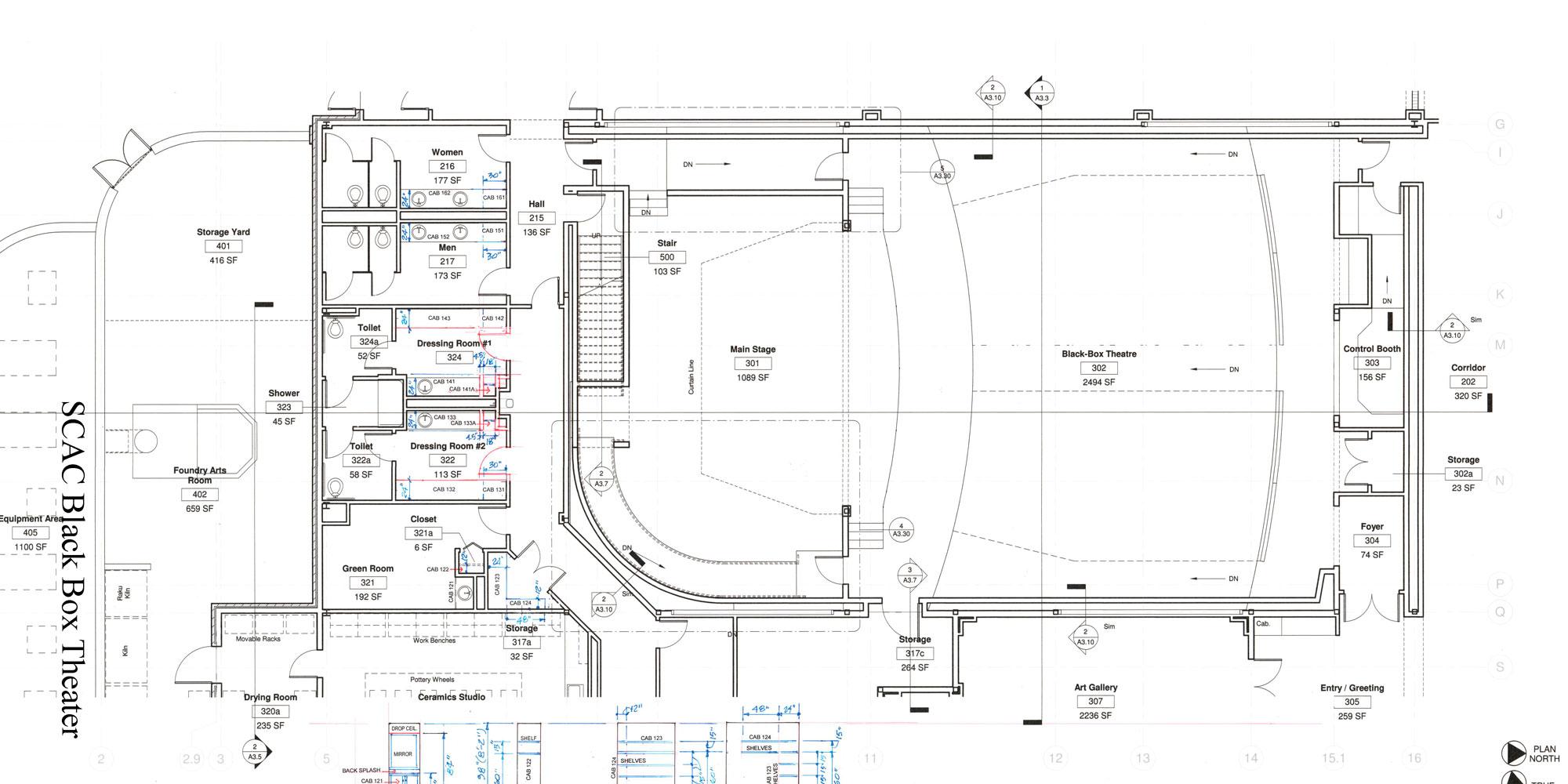 Black Box Theater Floor Plan