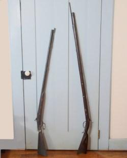 Kentucky Long Rifle and Shot Gun