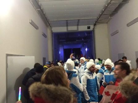 Entering the Closing Ceremonies