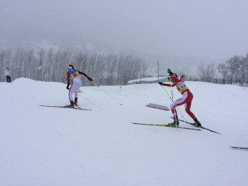 Emma racing team sprint relay