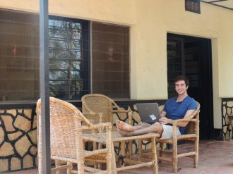 Jeremy Relaxing