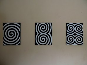 Imigongo - Traditional Rwandan paintings crafted from cow dung