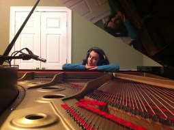 My piano is special. I have to use it to record the album.