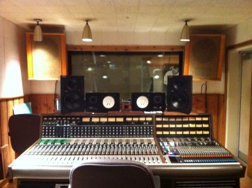 I got to sit in on a session at RCA Studio B!