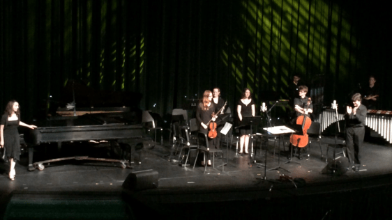 The Belmont New Music Ensemble debuts my composition
