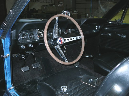 1966 gt350 saphire - 110