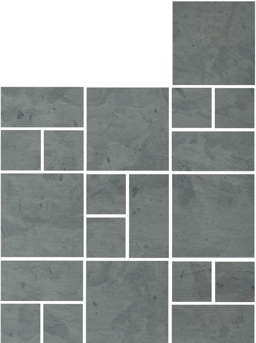 X Tile Layout 24 6 Tile