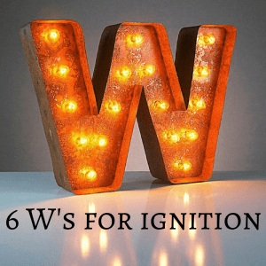 W words for ignition