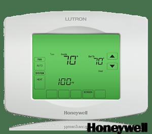 Lutron RadioRA2 TouchPRO Thermostat